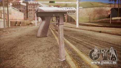 TEC-9 v2 from Battlefield Hardline für GTA San Andreas zweiten Screenshot