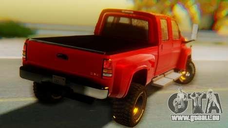 GMC Topkick C4500 pour GTA San Andreas laissé vue