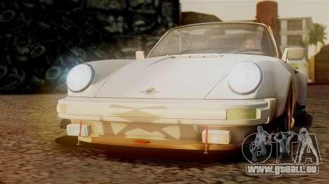 Porsche 911 Turbo (930) 1985 Kit C PJ für GTA San Andreas Räder
