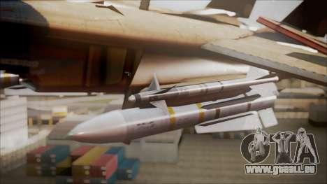 F-14D AC6 Halloween pour GTA San Andreas vue de droite
