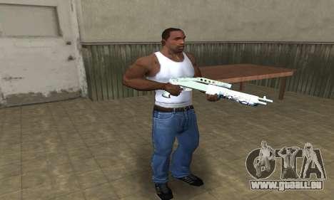 Graf Spas-12 pour GTA San Andreas troisième écran