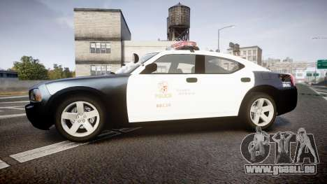 Dodge Charger 2010 LAPD [ELS] für GTA 4 linke Ansicht