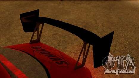 Toyota Mark 2 100 für GTA San Andreas Rückansicht