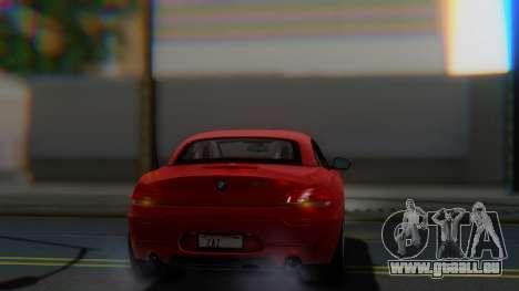 BMW Z4 sDrive35is 2011 2 Extras pour GTA San Andreas vue de côté