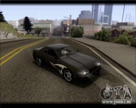 Elegy Hard Stunt für GTA San Andreas Unteransicht