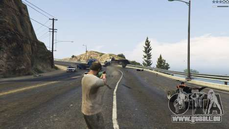 GTA 5 Gravity Gun 1.5 quatrième capture d'écran
