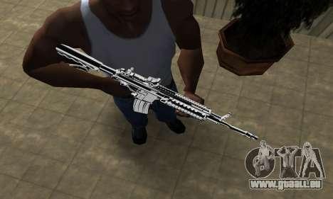 Original M4 pour GTA San Andreas