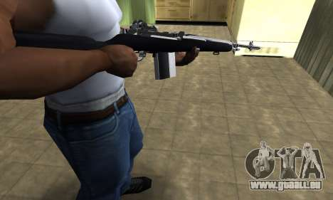 Full Black Rifle pour GTA San Andreas