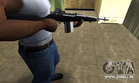 Full Black Rifle pour GTA San Andreas