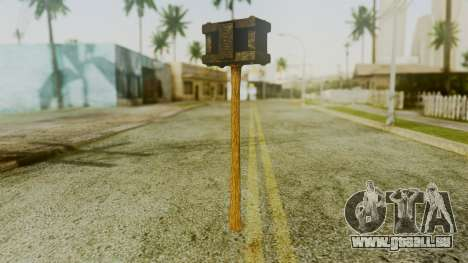 Bogeyman Hammer from Silent Hill Downpour v1 für GTA San Andreas