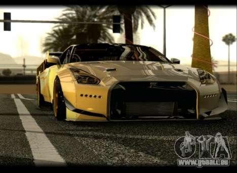 Nissan GTR-R35 Rocket Bunny pour GTA San Andreas