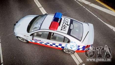 Holden Commodore SS Highway Patrol [ELS] für GTA 4 rechte Ansicht