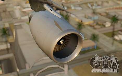 DC-10-30 Monarch Airlines für GTA San Andreas rechten Ansicht