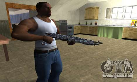 Snowflake Combat Shotgun für GTA San Andreas zweiten Screenshot