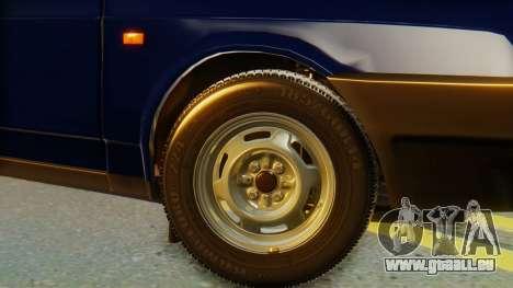 VAZ 2108 Stoke pour GTA San Andreas sur la vue arrière gauche