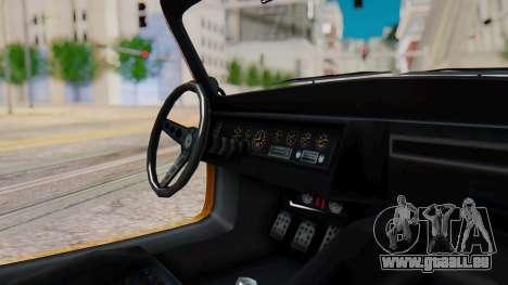GTA 5 Benefactor Stirling IVF pour GTA San Andreas sur la vue arrière gauche