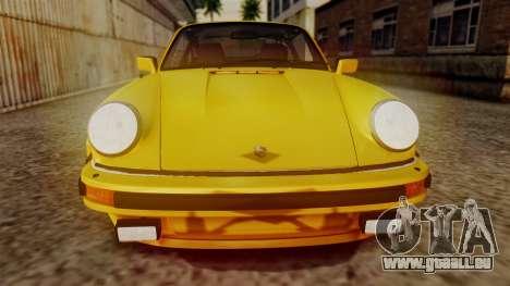Porsche 911 Turbo (930) 1985 Kit C PJ pour GTA San Andreas vue de côté