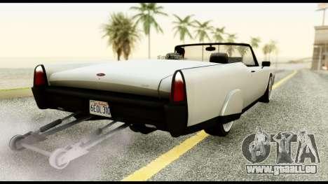 GTA 5 Vapid Chino Tuning v1 für GTA San Andreas linke Ansicht
