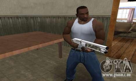 Militarry Shotgun pour GTA San Andreas troisième écran