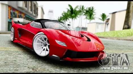 Grotti Turismo RXX-K v2.0 pour GTA San Andreas