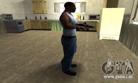 Water Shotgun pour GTA San Andreas troisième écran