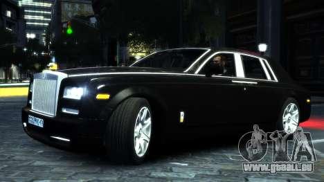 Rolls-Royce Phantom 2013 v1.0 pour GTA 4 Vue arrière de la gauche