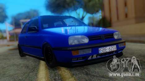 Volkswagen Golf 3 Pink Floyd für GTA San Andreas