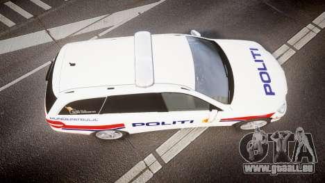 Mercedes-Benz E63 AMG Estate 2012 Police [ELS] pour GTA 4 est un droit