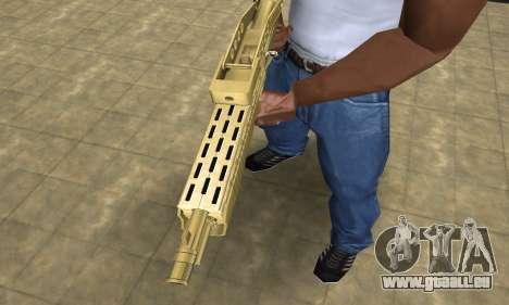 Zloty Tajfun Combat Shotgun pour GTA San Andreas deuxième écran