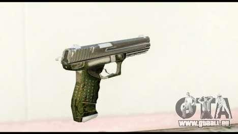 Pistol from Crysis 2 für GTA San Andreas zweiten Screenshot