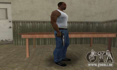 Military Deagle für GTA San Andreas zweiten Screenshot