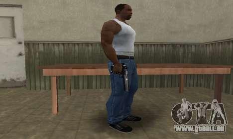 Military Deagle für GTA San Andreas zweiten Screenshot