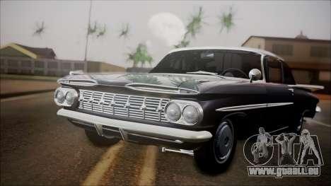 Chevrolet Impala 1959 für GTA San Andreas linke Ansicht