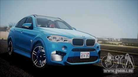 BMW X6M 2015 für GTA San Andreas
