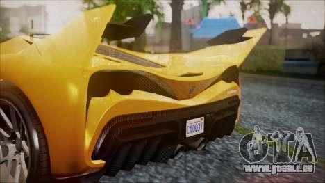 Grotti Turismo RXX-K für GTA San Andreas rechten Ansicht