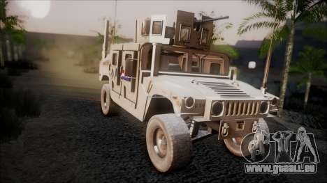 HMMWV Croatian Army ISAF Contigent pour GTA San Andreas