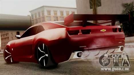 Chevrolet Camaro SS für GTA San Andreas linke Ansicht