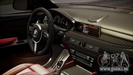 BMW X6M 2015 für GTA San Andreas rechten Ansicht