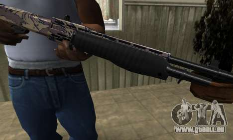 Brown Combat Shotgun für GTA San Andreas
