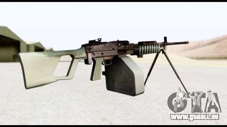Type 88 Battlefield 4 pour GTA San Andreas deuxième écran