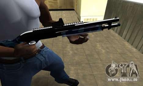 Water Shotgun pour GTA San Andreas deuxième écran