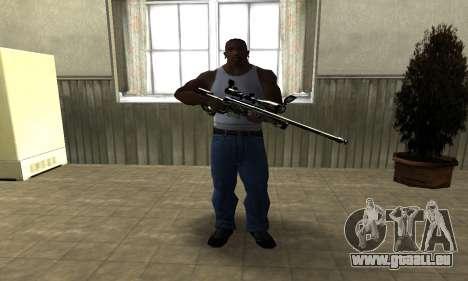 Lithy Sniper Rifle pour GTA San Andreas deuxième écran