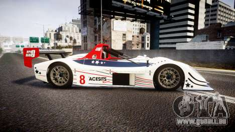 Radical SR8 RX 2011 [8] pour GTA 4 est une gauche