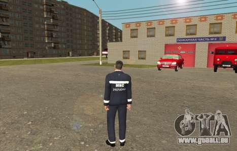 Retter Der Ukraine für GTA San Andreas zweiten Screenshot