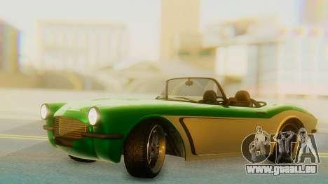 Invetero Coquette BlackFin v2 GTA 5 Plate pour GTA San Andreas