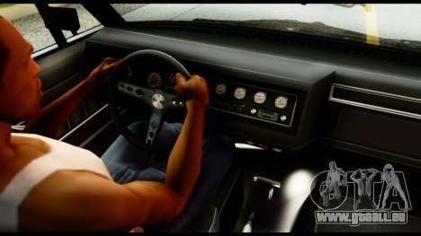 GTA 5 Vapid Chino Tuning v1 für GTA San Andreas zurück linke Ansicht