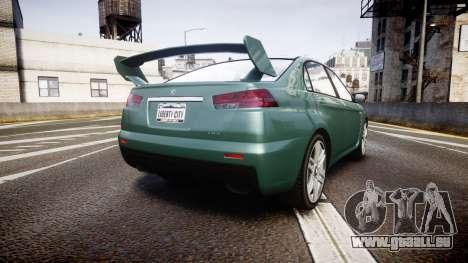 GTA V Karin Kuruma gloss paint für GTA 4 hinten links Ansicht