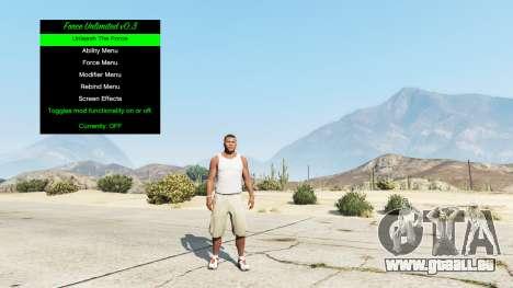 GTA 5 Unendliche macht v0.3 dritten Screenshot