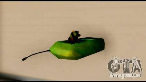 Brasileiro Bomb Detonator pour GTA San Andreas