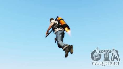 GTA 5 Jetpack v1.0.1 deuxième capture d'écran
